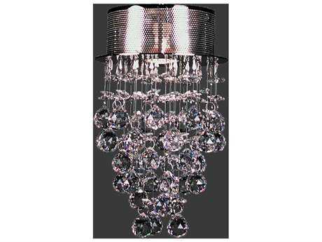 Classic Lighting Corporation Andromeda Chrome Semi-Flush Mount Light C816014CHCP