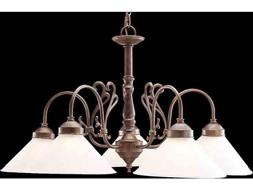 Clic Lighting Corporation Biltmore Five Light 27 Wide Chandelier