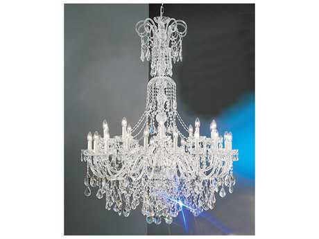 Classic Lighting Corporation Bohemia 30-Light 48'' Wide Grand Chandelier C88264CHC