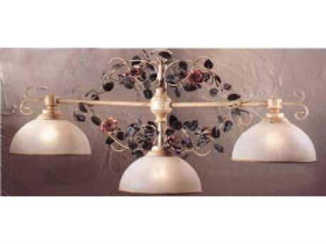 Classic Lighting Corporation Bouquet Ivory Three-Light Island Light C83694