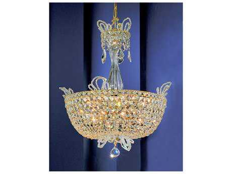 Classic Lighting Corporation Crown Jewels Gold Plated 16-Light Pendant Light C869783GPCP