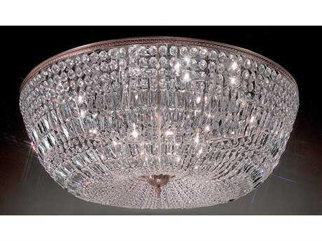 Classic Lighting Corporation Crystal Baskets 20-Light Flush Mount Light C852048MSI