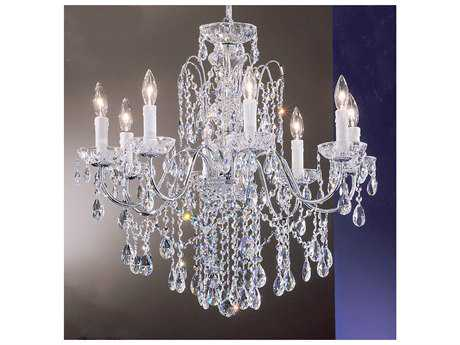 Classic Lighting Corporation Daniele Eight-Light 25'' Wide Chandelier C88398CHC