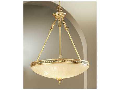 Classic Lighting Corporation Devon Satin Bronze & Brown Patina Three-Light Pendant Light C855505SBB