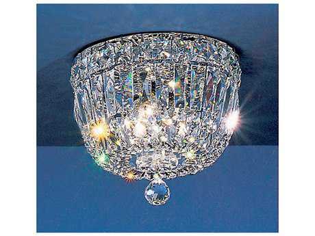 Classic Lighting Corporation Empress Chrome Three-Light Flush Mount Light C853308CHCP