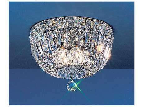 Classic Lighting Corporation Empress Chrome Three-Light Flush Mount Light C853310CHCP