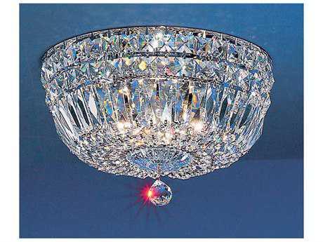 Classic Lighting Corporation Empress Chrome Four-Light Flush Mount Light C853312CHCP
