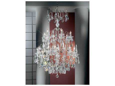 Classic Lighting Corporation Garden of Versailles 19-Light 36'' Wide Grand Chandelier
