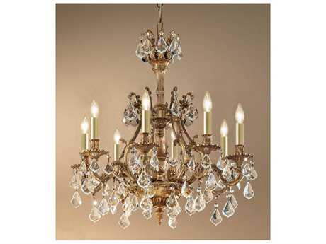 Classic Lighting Corporation Majestic Eight-Light 27'' Wide Grand Chandelier C857348FGCP