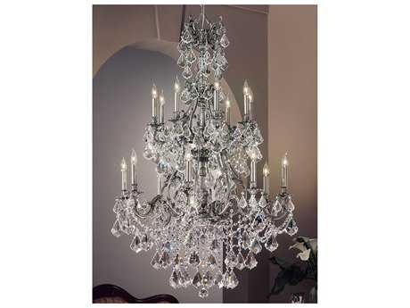 Classic Lighting Corporation Majestic Imperial 16-Light 38'' Wide Grand Chandelier C857357AGPCP
