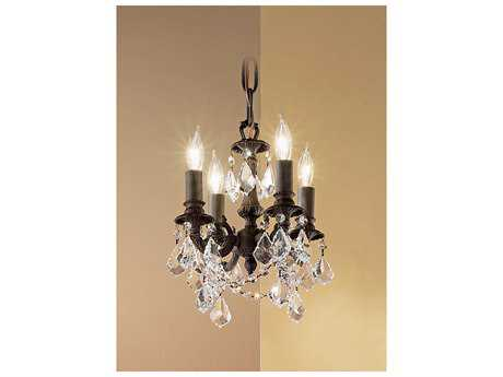 Classic Lighting Corporation Majestic Imperial Four-Light 10'' Wide Mini Chandelier