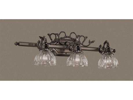 Classic Lighting Corporation Majestic Three-Light Vanity Light C857367AGB