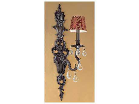 Classic Lighting Corporation Majestic Aged Bronze Wall Sconce C857341AGBCPBG