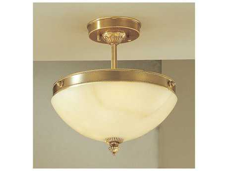 Classic Lighting Corporation Mallorca Antique Bronze Three-Light Semi-Flush Mount Light C85620ABZ