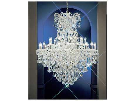 Classic Lighting Corporation Maria Theresa 31-Light 45'' Wide Grand Chandelier C88137CHC