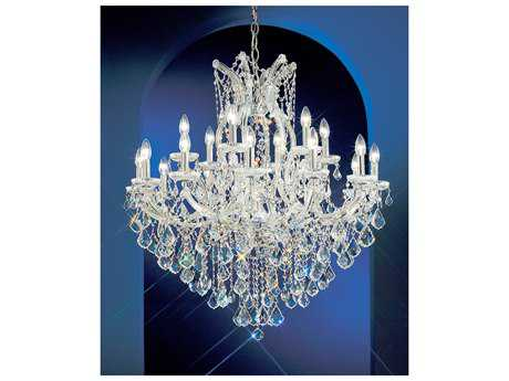 Classic Lighting Corporation Maria Theresa 19-Light 36'' Wide Grand Chandelier C88138CHC