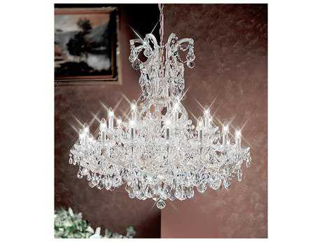 Classic Lighting Corporation Maria Theresa 25-Light 40'' Wide Grand Chandelier C88159CHC