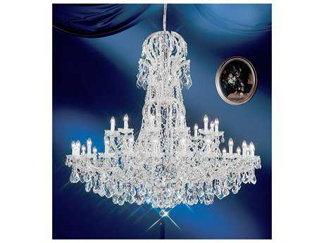 Classic Lighting Corporation Maria Theresa 37-Light 64'' Wide Grand Chandelier C88166CHC
