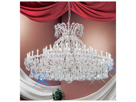 Classic Lighting Corporation Maria Theresa 49-Light 74'' Wide Grand Chandelier C88168CHC
