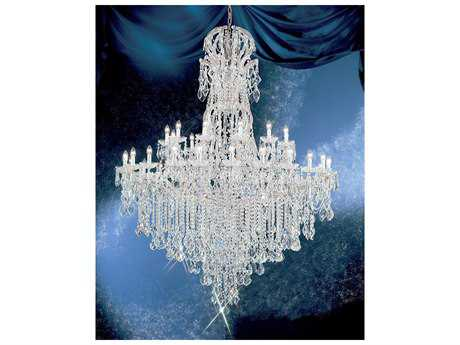 Classic Lighting Corporation Maria Theresa 37-Light 64'' Wide Grand Chandelier C88186CHC