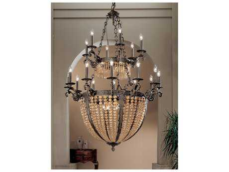 Classic Lighting Corporation Merlot Aged Bronze 27-Light 43'' Wide Grand Chandelier C85769AGBAI