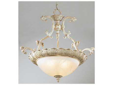Classic Lighting Corporation Montego Bay Sorrento Gold Three-Light Pendant Light C868521SG