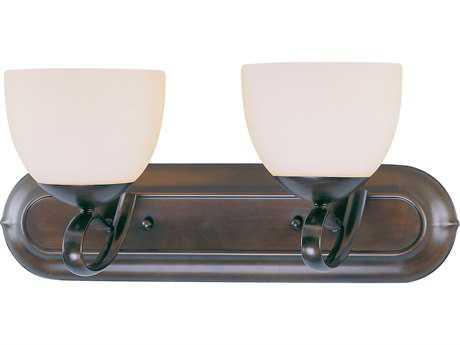 Classic Lighting Corporation Odyssey Oil Rubbed Bronze Two-Light Vanity Light C871012ORB