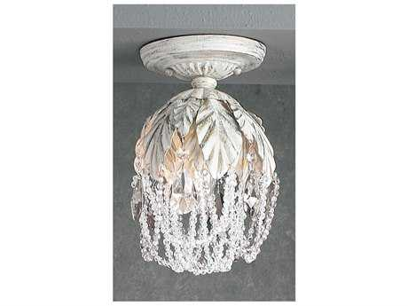 Classic Lighting Corporation Petite Fleur Semi-Flush Mount Light C88330AWC