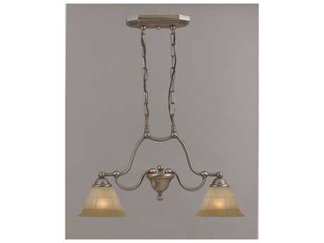Classic Lighting Corporation Providence Two-Light Island Light C869623ACPTCG