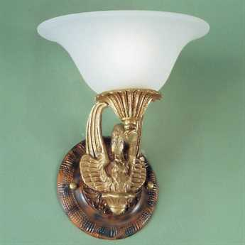 Classic Lighting Corporation Queen Isabela Satin Bronze with Sienna Patina 9'' Wide Wall Sconce