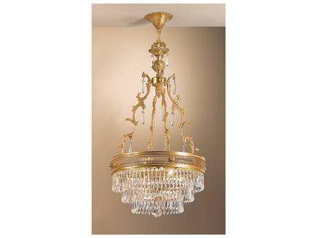 Classic Lighting Corporation Renaissance Four-Light Pendant Light C855514FGC