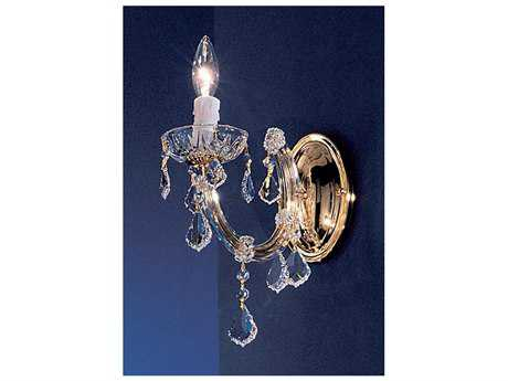 Classic Lighting Corporation Rialto Gold Plated Wall Sconce C88341GPCP