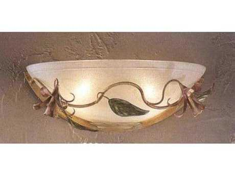 Classic Lighting Corporation Secret Garden Ivory Wall Sconce C83661I