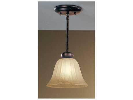 Classic Lighting Corporation Solo English Bronze Mini-Pendant Light C8680006EB