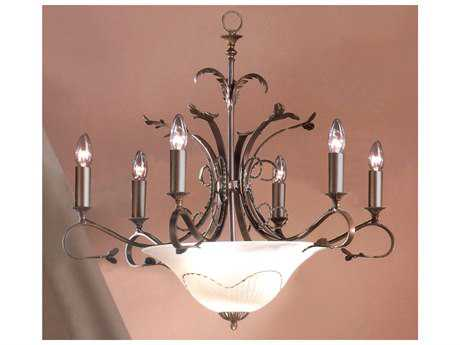 Classic Lighting Corporation Treviso Bronze Nine-Light 29 Wide Chandelier C84118BZ