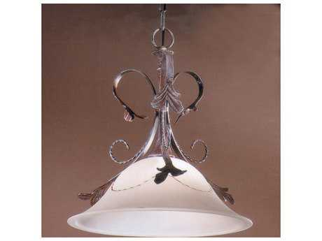 Classic Lighting Corporation Treviso Weathered Clay Pendant Light C84111WC