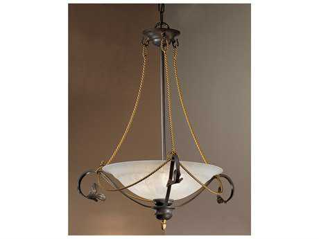Classic Lighting Corporation Verona Bronze Three-Light Semi-Flush Mount Light C84103BZ