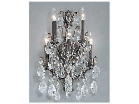Classic Lighting Corporation Versailles Antique Bronze Five-Light Wall Sconce C89002ABC