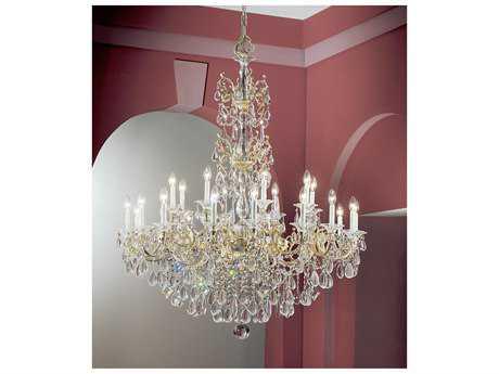 Classic Lighting Corporation Via Venteo 24-Light 46 Wide Grand Chandelier C857025CHPC