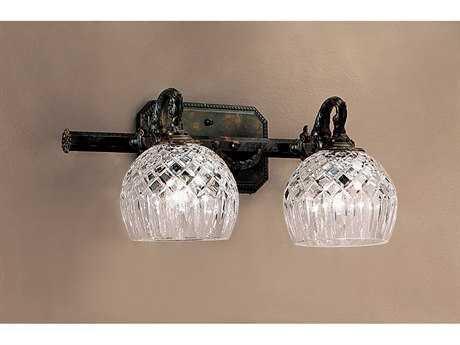 Classic Lighting Corporation Waterbury Oxidized Bronze Two-Light Vanity Light C855542OX