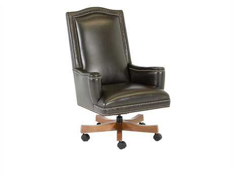 Classic Leather Addison Swivel Office Chair