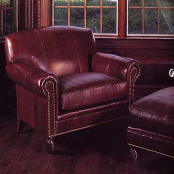 Classic Leather Bonaire Chair And One half