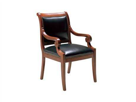 Classic Leather Bookbinder Dining Chair
