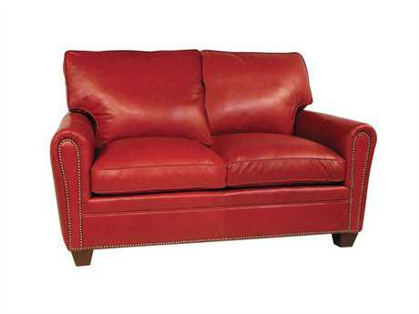 Classic Leather Bowden Loveseat
