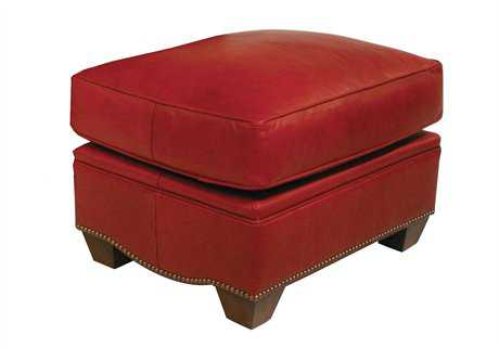 Classic Leather Bowden Ottoman
