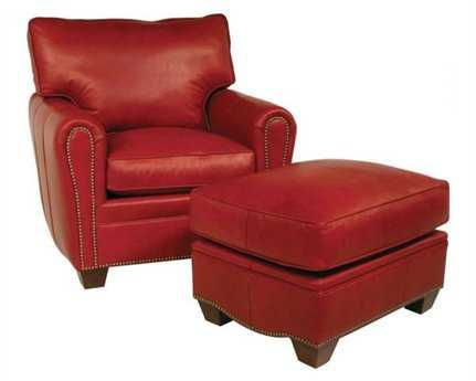 Classic Leather Bowden Low Leg Recliner