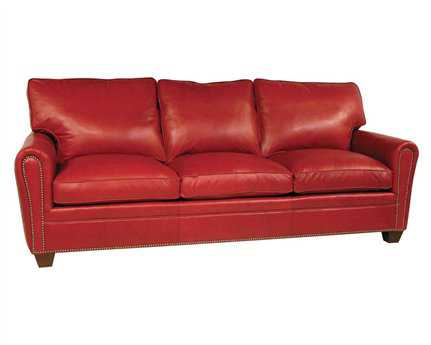 Classic Leather Bowden Sofa