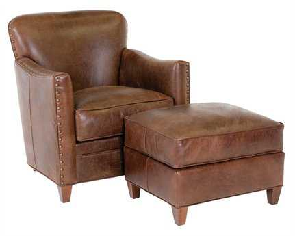 Classic Leather Card Room Club Chair