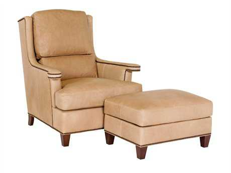 Classic Leather Carmel Club Chair