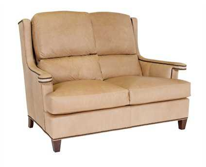 Classic Leather Carmel Loveseat